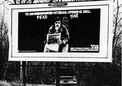 Anti War Billboard