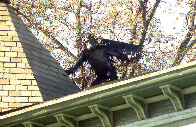 Winged Monkey's Mate at the Turret